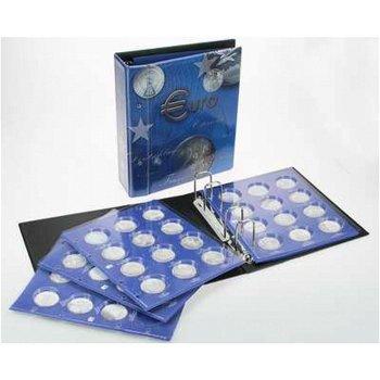 TOPset-Album für lose 20 Euro-Münzen, blau, Safe 7312