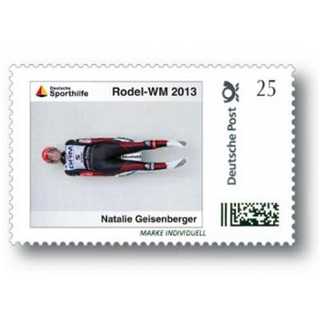 Winter Games 2013, Tobogganing - Brand Individuell mint never hinged, Germany