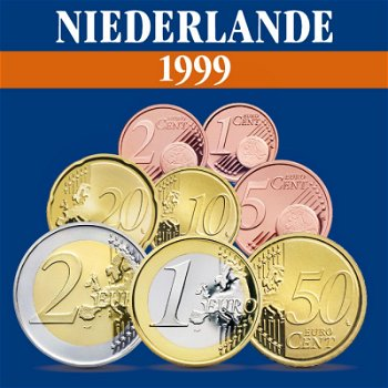 Niederlande - Kursmünzensatz 1999