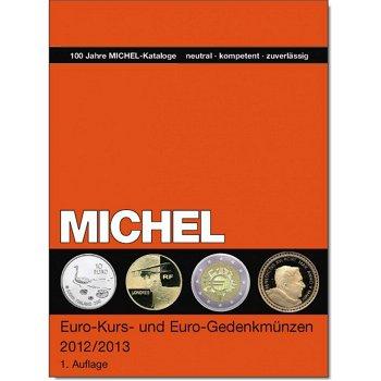 MICHEL Katalog, Euro-Kurs- und Euro-Gedenkmünzen, 1. Auflage 2012/2013, in Farbe