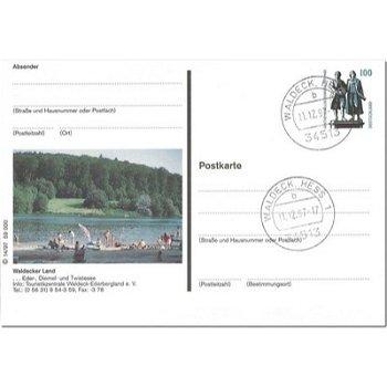 3544 Waldeck/Hessen - Bildpostkarte