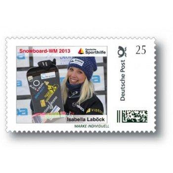 Snowboard-WM 2013 Canada - Marke Individuell postfrisch, Deutschland