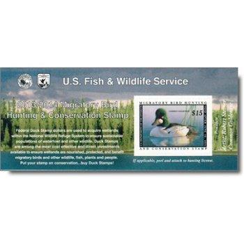 Zugvogel - Gebührenmarke im Briefmarken-Block, USA