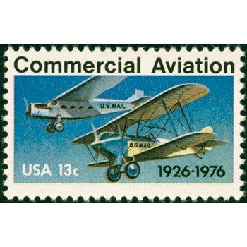 50 Jahre kommerzieller Luftpostdienst - Briefmarke postfrisch, Katalog-Nr. 1254, USA