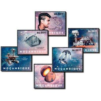 Erforschung des Mars - 6 Briefmarken postfrisch, Katalog-Nr. 6265-6270, Mocambique