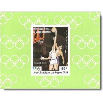Olympische Sommerspiele 1984 - 5 Luxusblocks postfrisch, Katalog-Nr. 712-716, Komoren