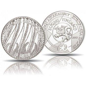 Goldenes Zeitalter - Europa-Sternserie, 10 Euro Silbermünze 2017, polierte Platte, Finnland