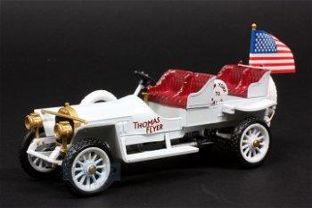 Modellauto:Thomas Flyer (Model 35)- Rallye New York-Paris 1908 -(RIO, 1:43)