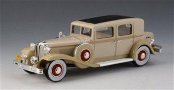 Modellauto:Chrysler Imperial CG Club Sedan von 1931,beige(GLM, 1:43)