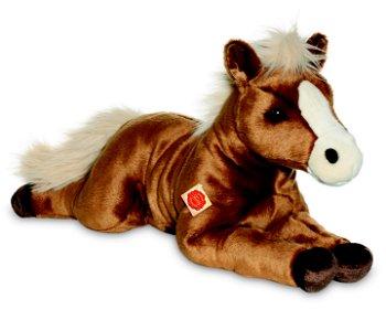 Großes braunes Pferd, 70 cm(Hermann Teddy Collection)