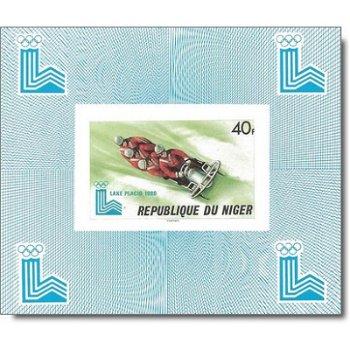 Winterspiele 1980 - 5 Luxusblocks postfrisch, Katalog-Nr. 685-689, Niger