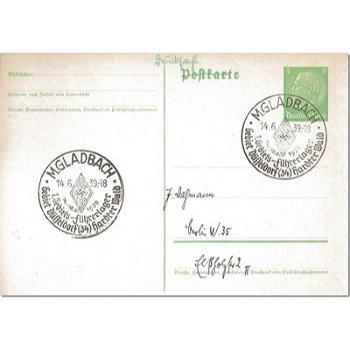 """4050 Mönchengladbach - Ganzsache """"1. Gebietsführerlager"""""""