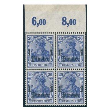 Deutsche Post in der Türkei, 4er-Block Katalog-Nr. 38a