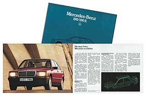 Prospekt:Mercedes-Benz 190/190 E