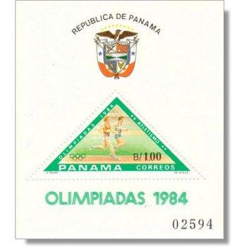 Olympische Spiele 1984 Los Angeles - Briefmarken-Block postfrisch, Katalog-Nr. 1584 Bl. 120, Panama