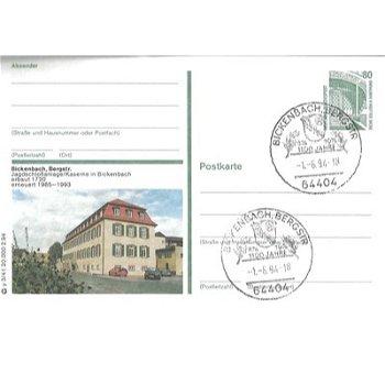 "6101 Bickenbach, Bergstr. - Bildpostkarte ""Jagdschloßanlage"""