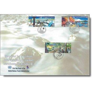 Internationales Jahr des Süßwassers, Trio-Brief, UNO