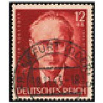 100. Geburtstag von Peter Rosegger - 2 Briefmarken, Katalog-Nr. 855-56, gestempelt, Deutsches Reich