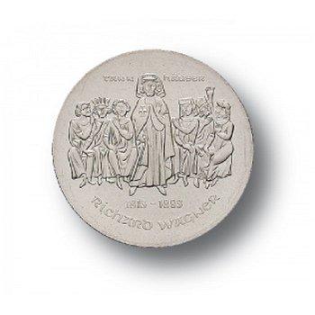 10-Mark-Münze 1983, 100. Todestag Richard Wagner, DDR