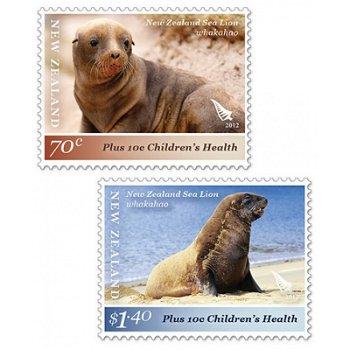 Kinderwohlfahrt 2012 – Briefmarken postfrisch, Neuseeland