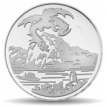 Drache von Breno, 20 Franken Münze 1996 Schweiz, Stempelglanz