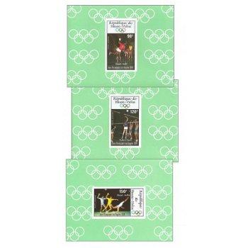 Olympische Sommerspiele 1984 - 5 Luxusblocks postfrisch, Katalog-Nr. 929-933, Obervolta
