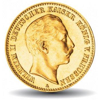 10 Mark Goldmünze König Wilhelm II., Königreich Preußen, Katalog-Nr. 251