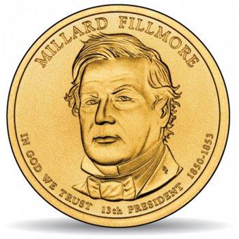 Millard Fillmore, Präsidentendollar 2010, USA