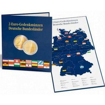 Münzalbum Presso, Deutsche Bundesländer, für 16 Münzen aus der 2-Euro-Serie, Leuchtturm 300408