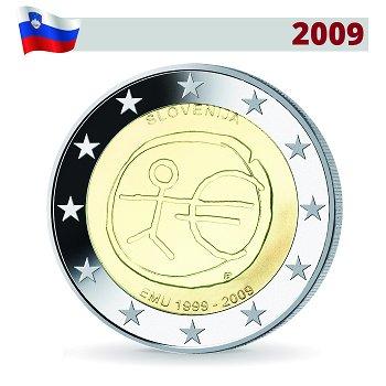 Wirtschafts- und Währungsunion, 2 Euro Münze 2009, Slowenien