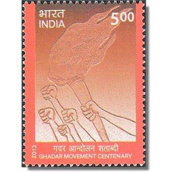 100 Jahre Ghadar Bewegung - Briefmarke postfrisch, Katalog-Nr. 2691, Indien