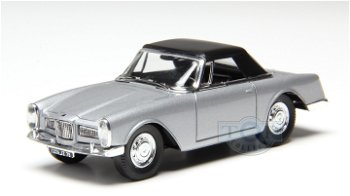 Modellauto:Facel Vega Facellia von 1962, silber(Solido, 1:43)