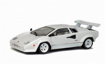 Modellauto:Lamborghini Countach LP 500, weiß(Solido, 1:43)