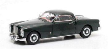 Modellauto:Bentley MK VI Facel-Metalon Coupé von 1951, dunkelgrün(Matrix, 1:43)