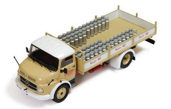 Modell-LKW:Mercedes-Benz 1113 - Stassano - von 1967(IXO Models, 1:43)
