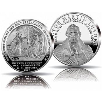 500 Jahre Reformation, Jubiläumsprägung in Silber