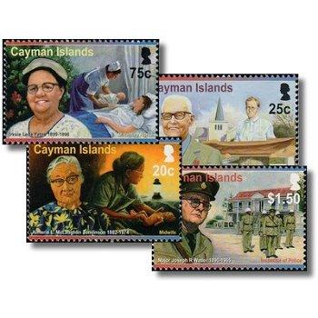 Persönlichkeiten - 4 Briefmarken postfrisch, Katalog-Nr. 1202-1205, Kaiman-Inseln