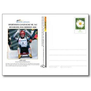 Winterspiele 2008 - Ganzsache postfrisch, Katalog-Nr. 165, Deutschland