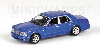 Modellauto:Bentley Arnage T, blau(Minichamps, 1:43)