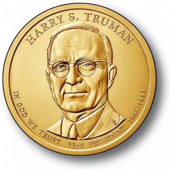 Harry S. Truman, Präsidentendollar 2015, USA