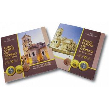 Kursmünzensatz 2016, Kirchen von Larnaca, Stempelglanz, Zypern