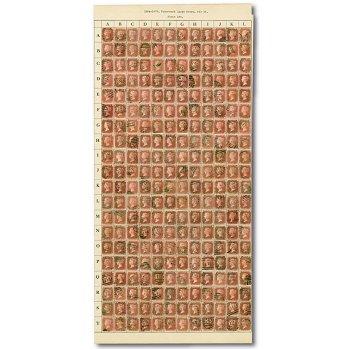 Bogenrekonstruktion der Katalog-Nr. 16, gestempelt, Großbritannien