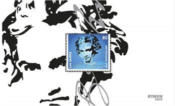 Ludwig van Beethoven - Block 85, Kat. 3513 postfrisch, Deutschland