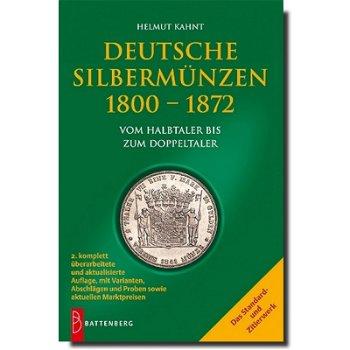 """Katalog """"Deutsche Silbermünzen 1800 - 1872"""", 2. Auflage, Battenberg-Verlag"""