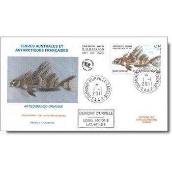 Tiere der Antarktis – Ersttagsbrief, Katalog-Nr. 735, TAAF