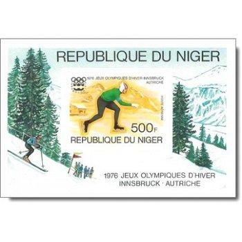 Olympische Winterspiele 1976, Innsbruck - Briefmarken-Block ungezähnt postfrisch, Katalog-Nr. 511 Bl
