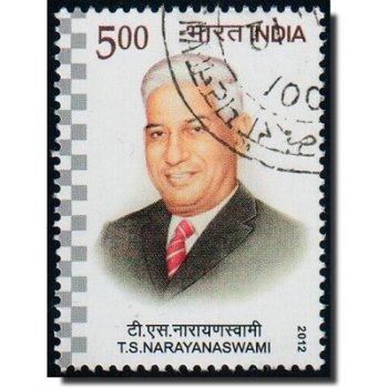 T. S. Narayanaswami - Briefmarke gestempelt, Katalog-Nr. 2680, Indien