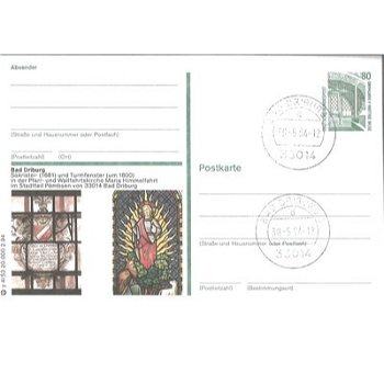 3490 Bad Driburg - picture postcard