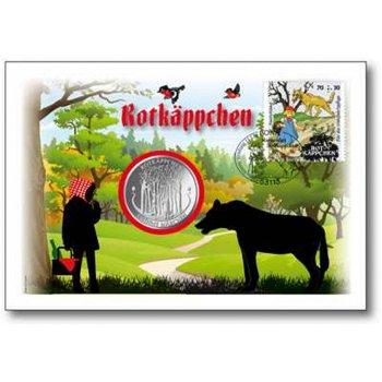 Grimms Märchen Rotkäppchen - Numisbrief, Deutschland