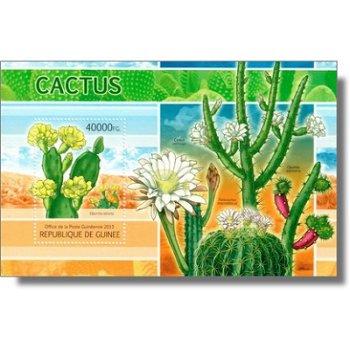 Kaktus - Briefmarken-Block postfrisch, Guinea